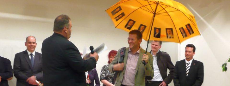 Nominierung zum Bürgermeisterkandidaten der CDU